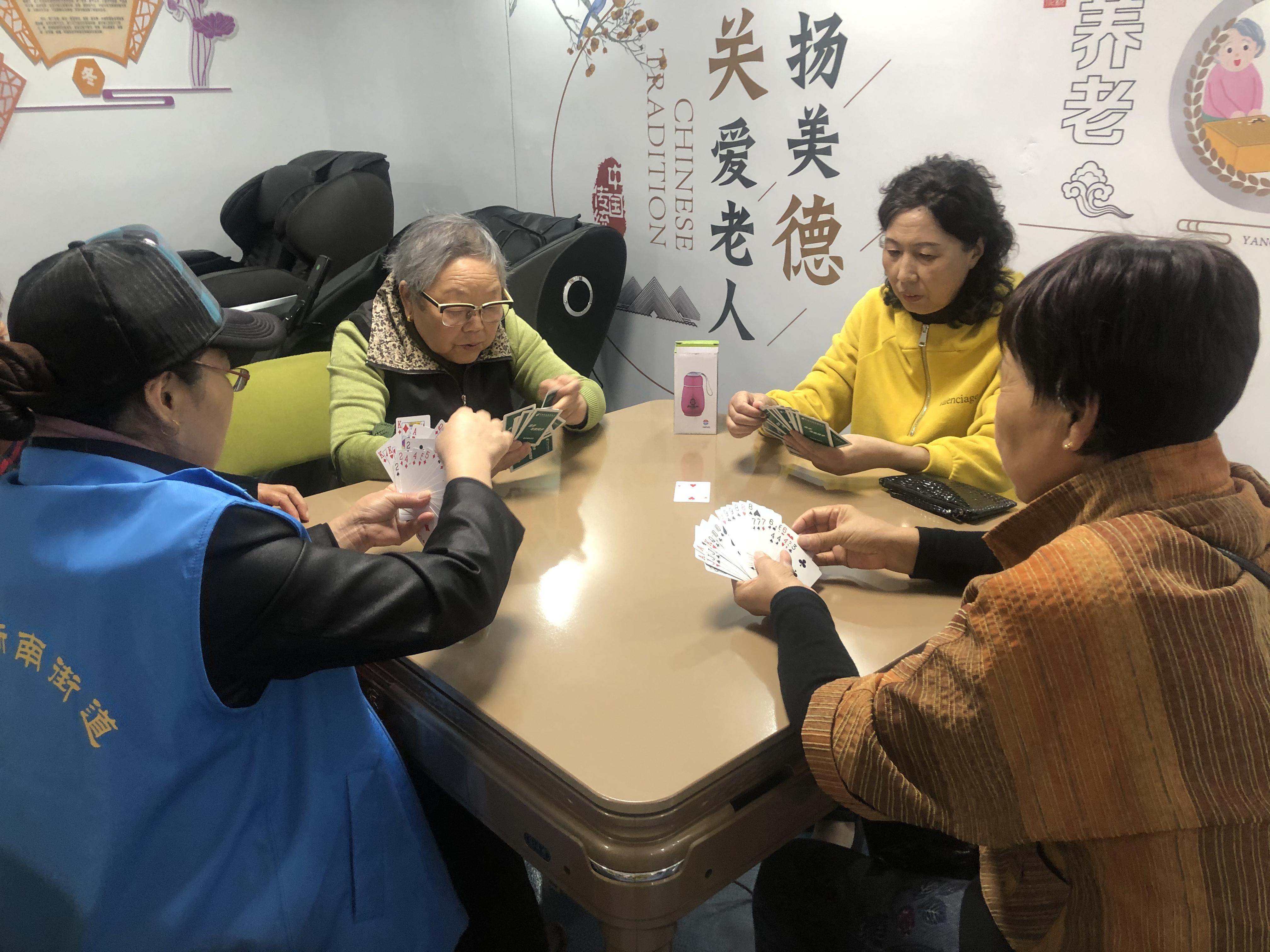 新南街道居家养老服务中心运行 为街道老年群体提供专业服务