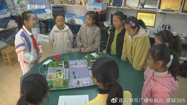 """港城 """"科技小达人""""孙瑜婧荣获""""新时代江苏好少年""""称号"""