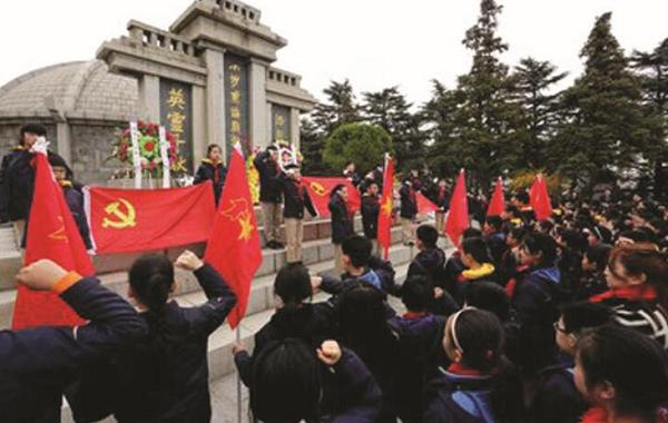 """文明实践·时代新风 四大行动传承""""红色基因"""" 抓实深化爱国主义教育"""