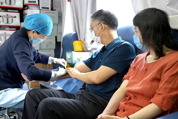 一群好人·满城春风 献血让世界更健康 为连云港献血志愿者点赞